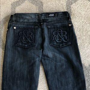 Rock and Republic dark denim jeans